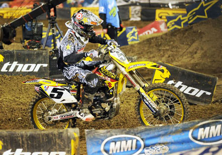 While many predicted another James Stewart vs. Chad Reed battle for the title, Ryan Dungey has emerged as an early favorite.