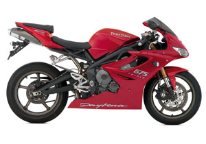 The 2009 Daytona 675 features technology developed during Triumph's debut World Supersport campaign in 2008.