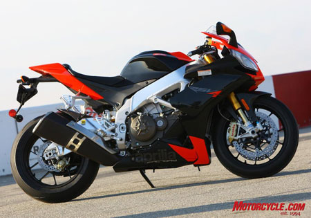 The recall affects both the Aprilia RSV4 Factory (pictured) and the lower-spec RSV4R.