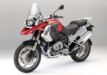 BMW's best seller, the R1200GS, returns for 2010 with an updated engine.