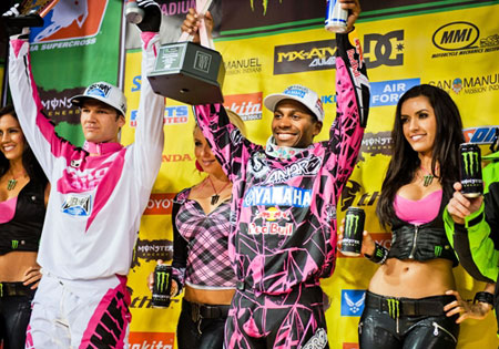Chad Reed James Stewart AMA Supercross Anaheim II