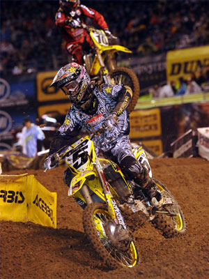 Ryan Dungey finished in sixth despite running out of coolant halfway through the race.