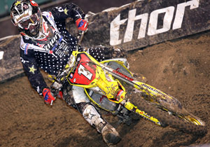 Chad Reed has seen his lead in the 2009 AMA Supercross standings slowly eroding with every race..
