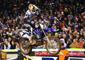 Including the 2008 AMA Motocross and Supercross seasons, James Stewart has lost just one race in the last calendar year.