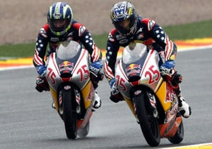Former AMA U.S. Rookies Cup riders Huntley Nash (left) and Joey Pascarella will form the new LTD Racing team.
