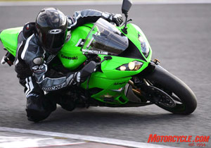 Contingency awards in the Daytona Sportbike and Supersport classes reward success on the Ninja ZX-6R.