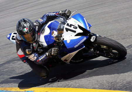 Steve Rapp raced on a Bazzaz-prepped Yamaha R6 in the 2009 AMA Daytona Sportbike Championship.