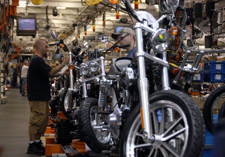 Harley Davidson Kansas City >> H D Reaches Deal With Kansas City Unions