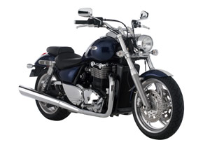 At $12,499, the Triumph Thunderbird is priced close to Harley-Davidson's big-Twin Dyna line.