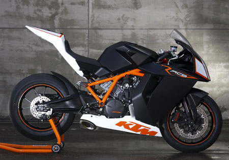 KTM will race in the Isle of Man TT for the first time with the RC8R.
