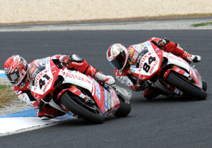 Noriyuki Haga and Michel Fabrizio will try to continue Ducati's tradition of WSBK success.