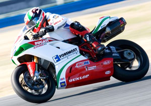 Larry Pegram was impressive at the Daytona 200 in Ducati's return to AMA Superbike racing.