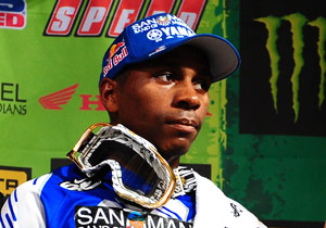 James Stewart's face says it all after the St. Louis race slipped from his grasp.