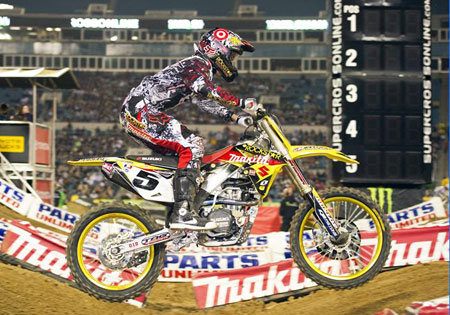 Ryan Dungey's consistency may earn him the 2010 AMA Supercross Championship.