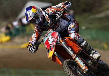 Reigning MX2 World Champion Marvin Musquin will race in the U.S. in 2011 and 2012.