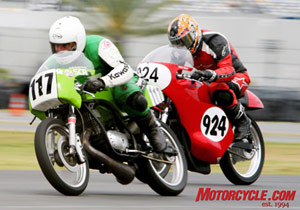 The 2009 VMD will introduce the new AMA Racing Vintage Grand Championships.