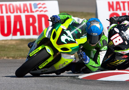 Brett McCormick's efforts since his Canadian racing team folded have earned him a spot with Jordan Suzuki as a fill-in for the injured Aaron Yates.