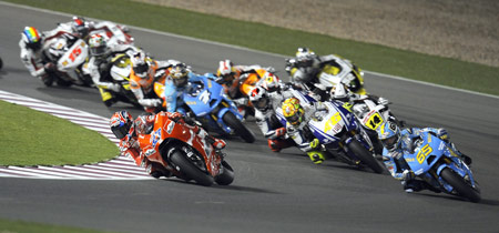 It took a bit longer than expected but the 2009 MotoGP season is underway!