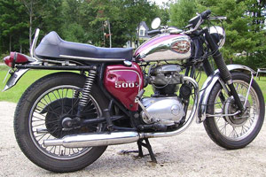 BSA is the Marque of the Year for the 2009 AMA Vintage Motorcycle Days.