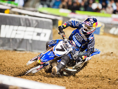 James Stewart AMA Supercross Seattle