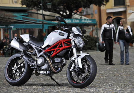 The Ducati Monster 796 will be available in late April as an early 2011 model.