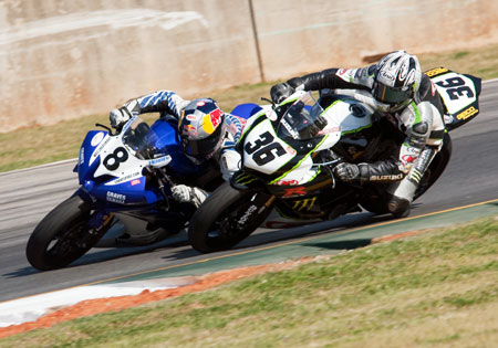 Martin Cardenas (36) has three wins in five races while Josh Herrin (8) still holds the championship lead.