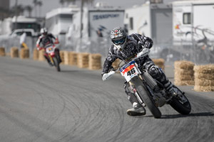 Carey Hart will strap on his helmet again when the AMA Supermoto season starts in July.