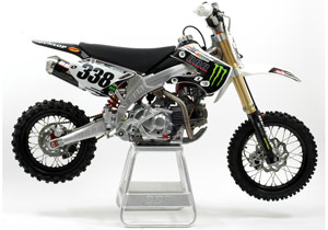 BBR Motorsports has a minibike prepared with Jason Lawrence's #338.