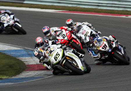 Jonathan Rea won Race One by over a second and Race Two by nearly two seconds, but both races were closer than the final results suggest.