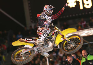 Ryan Dungey won the 2009 West Region AMA Supercross Lites title.