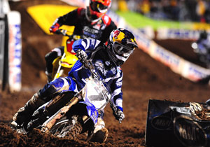 James Stewart set a record for the most SX wins by a Yamaha rider in a single season.