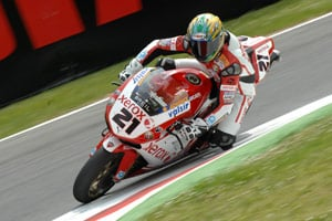 Troy Bayliss got off to a good start at Monza, sitting second in the provisional qualifying session.