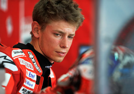 Casey Stoner may be the first domino to fall for the 2011 MotoGP rider signings.