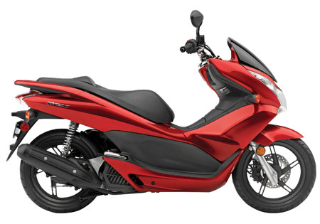 The new Honda PCX scooter will soon be available in North America. It will not, however, have the idling stop system used in other markets.