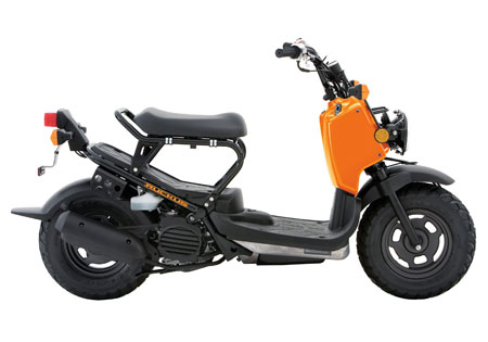 The Honda Ruckus returns as a 2011 model, though the only updates it received were two new colors.