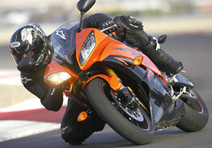 Yamaha will supply the riding school with motorcycles such as the 2009 YZF-R6
