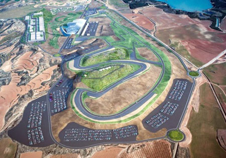 Motorland Aragon has signed on to host WSBK rounds from 2011 to 2013.