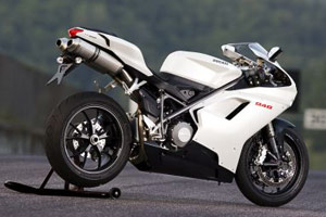 The Ducati 848 is moving faster than the 1098 - on the showroom floor, that is.