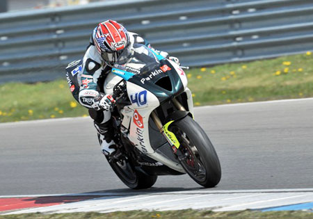 Jason DiSalvo will make his return to the global racing scene at the Indianapolis Moto2 race. He has been racing in the U.S. since leaving the Triumph World Supersport team.