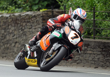 Steve Plater won the inaugural Joey Dunlop Trophy for scoring the most points through the week.