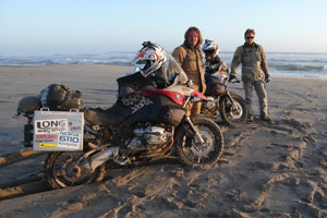 Long Way Down trails Ewan McGregor (right) and Charley Boorman's 15,534-mile journey.