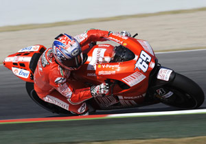 Nicky Hayden had a disappointing test session in Barcelona.