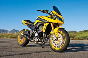 Proceeds from the sale of this custom FZ1 will support Motocross legend Doug Henry.