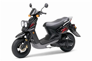 Yamaha hopes to improve sales by touting the fuel efficiency of its scooters such as the 2009 Zuma. The 49cc air-cooled two-stroke is said to get a whopping 123 mpg.