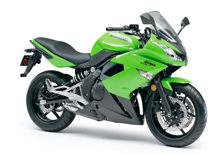 The 2011 Kawasaki Ninja 400R is similar to the 650R, just with a smaller engine.
