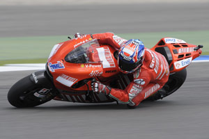 Despite a slow start to the 2009 season, Casey Stoner has won two races in a row and now sits third in the standings.