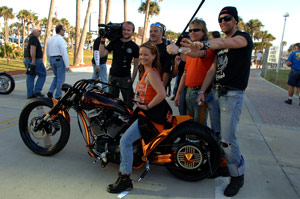 Harley-Davidson looks to tap into the female market which currently represents 12% of sales.