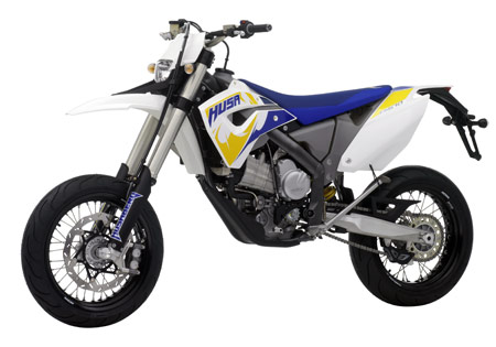Husaberg is adding the road worthy FS570 to its lineup.