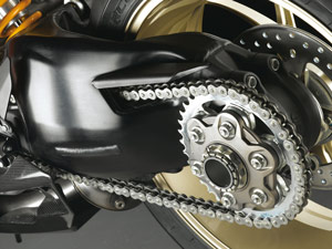 Owners are urged to contact dealers to replace faulty rear drive sprockets on 2008 Ducati 1098 bikes.