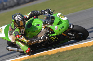 Veteran racer Jamie �The Hacker� Hacking was the 1998 AMA Superbike Rookie of the Year.